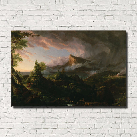 Thomas Cole, Old Masters Fine Art Print, The Savage State