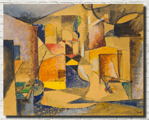 Albert Gleizes Abstract Art Print, Composition