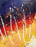 Original Painting James Lucas, Primeval Storm Abstract