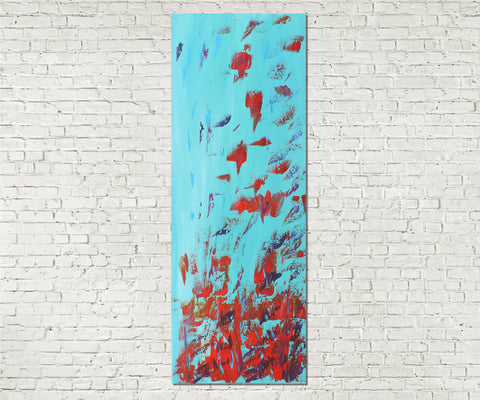 Original Painting James Lucas, Falling Abstract