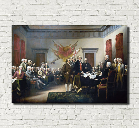 John Trumbull Fine Art Print: Declaration of Independence