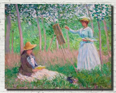 Claude Monet Fine Art Print, In the Woods at Giverny