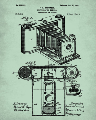 Camera blueprint art photography patent print photographer poster camera blueprint art photography patent print photographer poster malvernweather Gallery