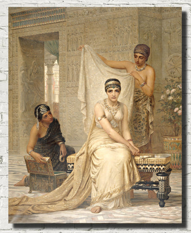 Edwin Long Fine Art Print, Hecate, Queen Esther