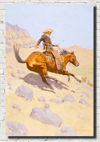 Frederic Remington, Fine Art Print : The Cowboy