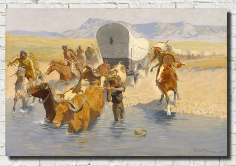 Frederic Remington, Fine Art Print : The Emigrants