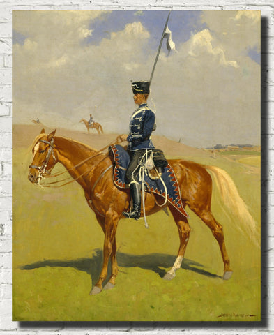 Frederic Remington, Fine Art Print : The Hussar