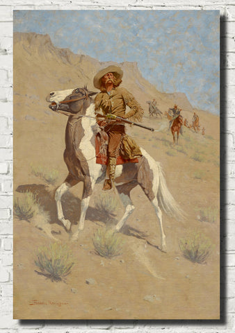 Frederic Remington, Fine Art Print : The Scout