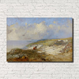 Eugène Boudin, Old Masters Fine Art Print : The Cove