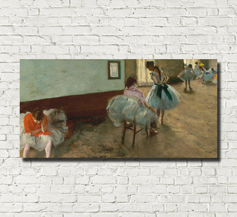 Edgar Degas, French Fine Art Print : The Dance Lesson