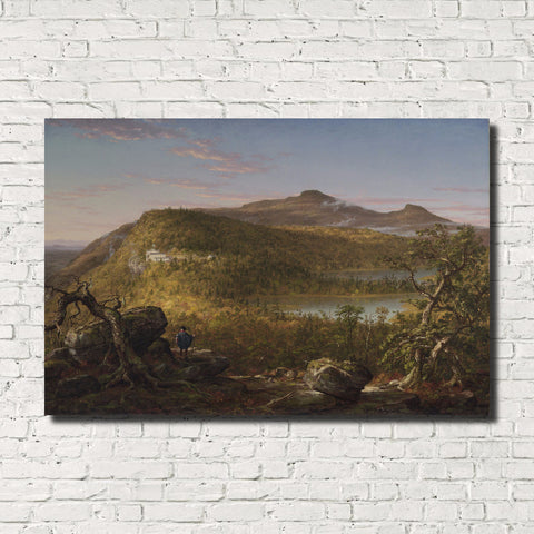 Thomas Cole, Old Masters Fine Art Print, Catskill Mountains Landscape