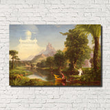 Thomas Cole, Old Masters Fine Art Print, The Voyage of Life: Youth