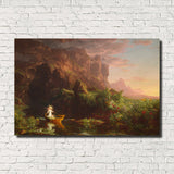 Thomas Cole, Old Masters Fine Art Print, The Voyage of Life : Childhood