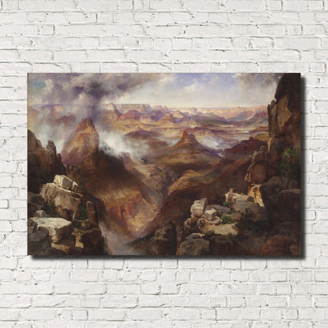Thomas Moran, Old Masters Classic Landscape Print : Grand Canyon