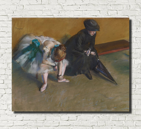 Edgar Degas, French Fine Art Print : Waiting