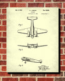 Aircraft Patent Art Blueprint Wall Art Poster - OnTrendAndFab