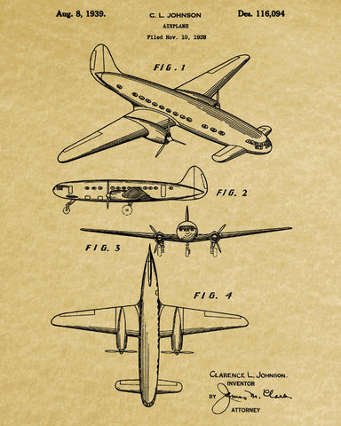 Aircraft patent art blueprint poster wall art ontrendandfab aircraft patent art blueprint poster wall art ontrendandfab malvernweather Gallery