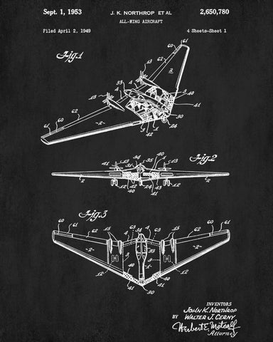 Aircraft patent poster wall art aviation blueprint ontrendandfab aircraft patent poster wall art aviation blueprint malvernweather Images