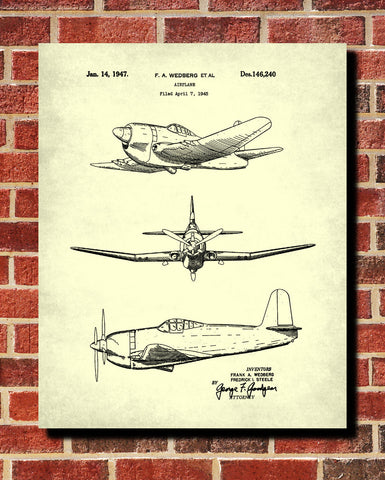 Aircraft blueprint art patent print wall art poster ontrendandfab aircraft blueprint art patent print wall art poster ontrendandfab malvernweather Gallery