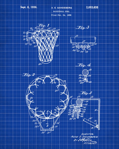 Basketball hoop patent print sports blueprint art poster ontrendandfab basketball hoop patent print sports blueprint art poster ontrendandfab malvernweather Choice Image