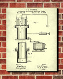 Beer Patent Print Cafe Art Bar Poster Pub Wall Poster