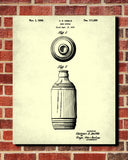 Beer Bottle Patent Print Bar Poster Cafe Art - OnTrendAndFab