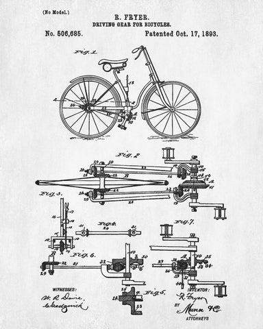 Vintage bicycle blueprint cyclist poster cycling patent print vintage bicycle blueprint cyclist poster cycling patent print malvernweather Image collections