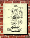 Bicycle Blueprint Print Cycling Patent Poster - OnTrendAndFab