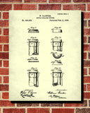 Beer Bottle Caps Patent Print Cafe Art Bar Poster - OnTrendAndFab