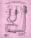Blood Pressure Monitor Medical Patent Print Nursing poster - OnTrendAndFab