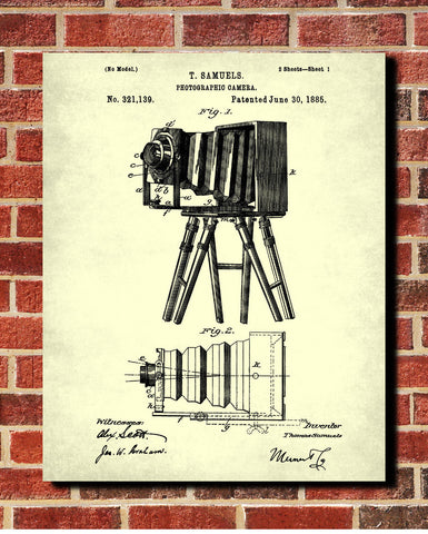 Camera blueprint art photographer poster photography patent camera blueprint art photographer poster photography patent ontrendandfab malvernweather Images