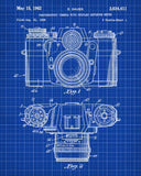 Camera Patent Print Photography Blueprint Photographer Poster - OnTrendAndFab