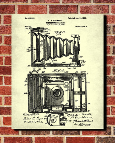 Camera blueprint art photography patent photographer poster camera blueprint art photography patent photographer poster ontrendandfab malvernweather Images