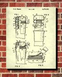 Champagne Cork Patent Poster Bar Art Cafe Print - OnTrendAndFab