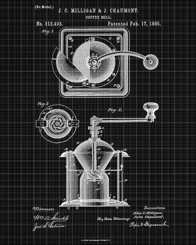 Coffee grinder patent print cafe blueprint kitchen poster coffee grinder patent print cafe blueprint kitchen poster ontrendandfab malvernweather Gallery