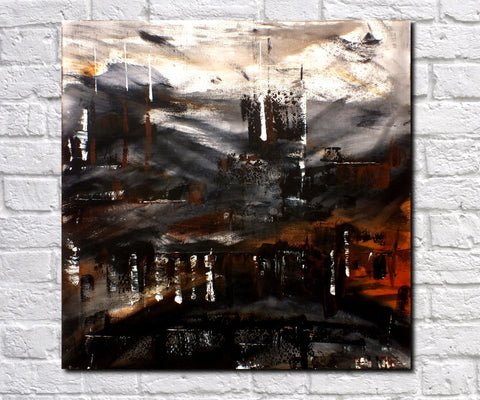 Abstract Art Print Feature Wall Art James Lucas: Dark Mirage