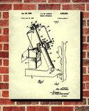 DeLorean Blueprint Car Suspension Patent Print - OnTrendAndFab