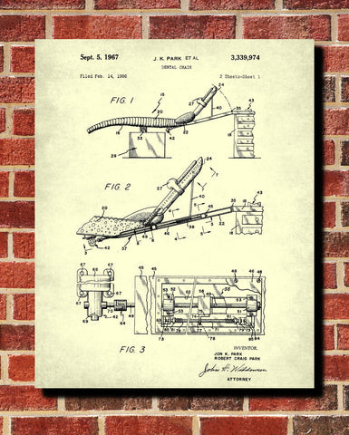 Dental chair patent print dentist blueprint waiting room poster dental chair patent print dentist blueprint waiting room poster ontrendandfab malvernweather Images