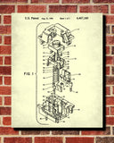 Electrical Blueprint Switch Patent Print Workshop Poster - OnTrendAndFab