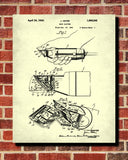 Barbershop Patent Print Hair Clippers Wall Art Poster - OnTrendAndFab