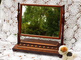 Antique Dressing Table Mirror Tilt Swing Jewel Box M342 - OnTrendAndFab