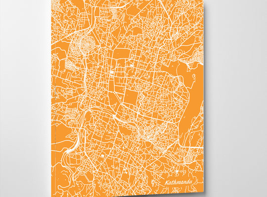 Macau City Street Map Print Modern Art Poster Home Decor
