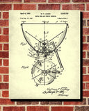 Kettledrum Patent Print Orchestra Musical Instrument Wall Art Poster