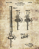 Science Poster, Laboratory Equipment Patent Print, Chemistry