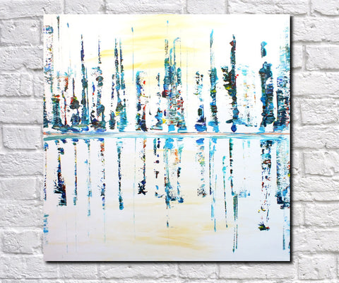 Abstract Art Print Feature Wall Art James Lucas: Lakeside