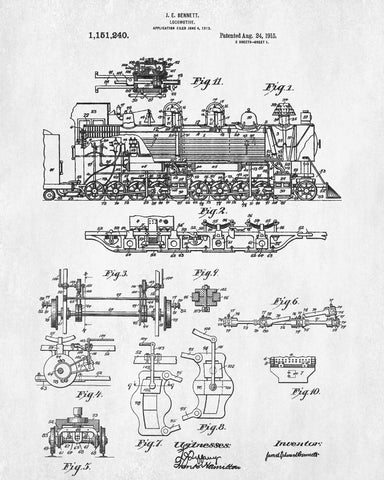 steam train blueprints wiring diagram database  lo otive patent print steam train poster railway wall art steam engine diagram lo otive patent