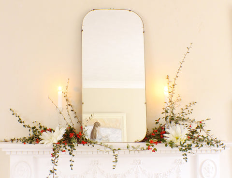 Mid Century Modernist Frameless Feature Mirror M362 - OnTrendAndFab