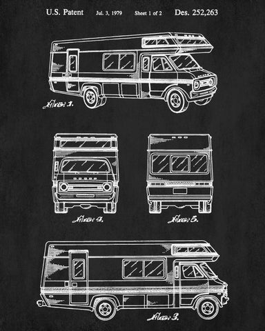 Motorhome patent print rv blueprint camping outdoors poster motorhome patent print rv blueprint camping outdoors poster malvernweather Image collections