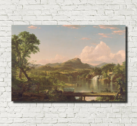 Frederic Edwin Church, Fine Art Print : New England Scenery
