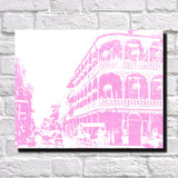 New Orleans Canal Street Print City Landscape Poster Feature Wall Art